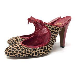 MOSCHINO heeled mules